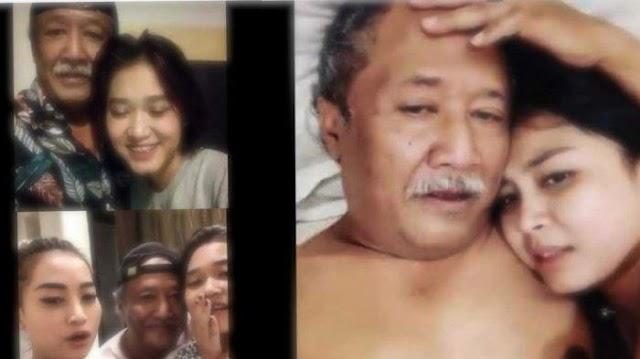 Potret Kebebasan Mbah Kung (Kakek Sugiono versi Indonesia) Bersama Wanita-wanita ABG sebelum Sakit