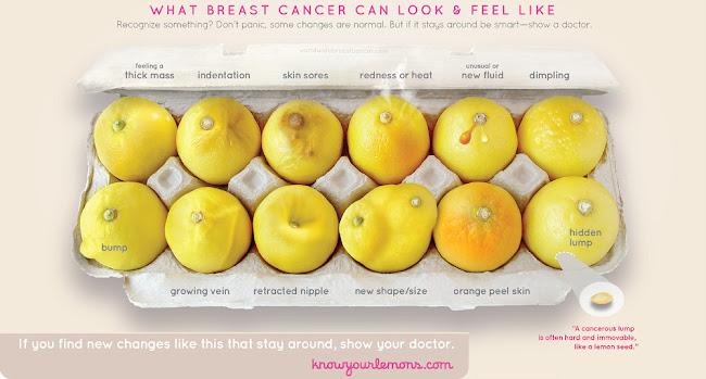 conoce tus limones cáncer de mama