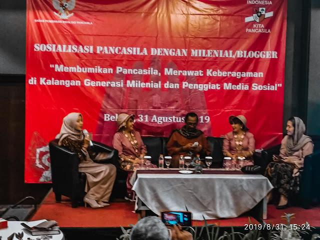 Membumikan Pancasila, Merawat Keberagaman di Kalangan Milenial dan Penggiat Media Sosial