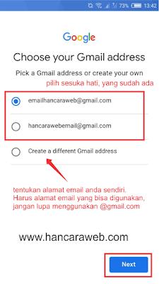 2 Cara Cepat Membuat Email Di HP (Gmail & Yahoo) 3 Menit Langsung Jadi