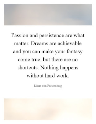 Passion And Persistence Quotes