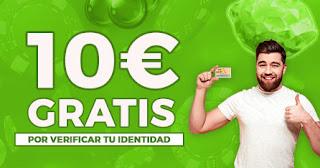 paston promocion casino bono 10 euros gratis verificar cuenta
