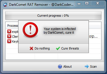 DarkComet RAT Remover Released