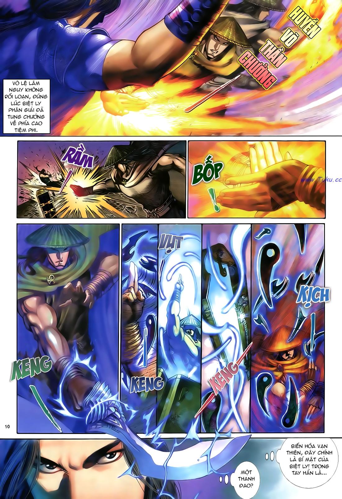 Anh hùng vô lệ Chap 21 trang 11