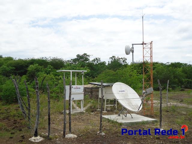 Base sismográfica em Pedro II recebe melhoria na transmissão
