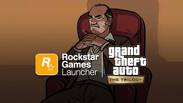grand theft auto trilogy remastered definitive edition gta 3 san andreas vice city google stadia nintendo switch pc playstation ps4 ps5 xbox one series x/s xsx rockstar games launcher-exclusivity
