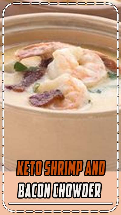 Comfort food to the rescue! Hearty Shrimp and Bacon Chowder, this keto soup recipe is a perfect winter meal. Full of tender shrimp and topped with crisp bacon, this is a must for chilly evenings.