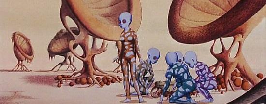 YGAM (EL PLANETA SALVAJE, 1973)