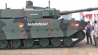 Tank Medium Harimau Kerjasama Pindad - FNSS