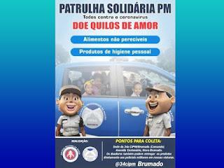 Patrulha Solidária da 34ª CIPM
