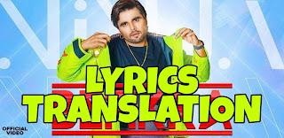 Befikra Lyrics Meaning/Translation in Hindi – Ninja