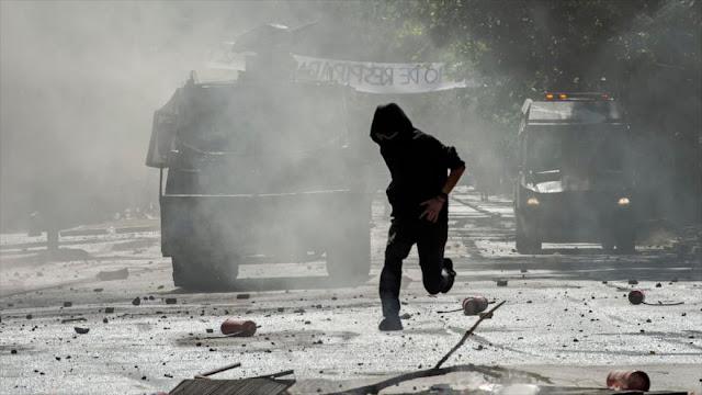 """Carabineros advierte de tener """"tolerancia cero"""" con protestas"""