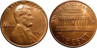 one cent coin Abraham Lincoln