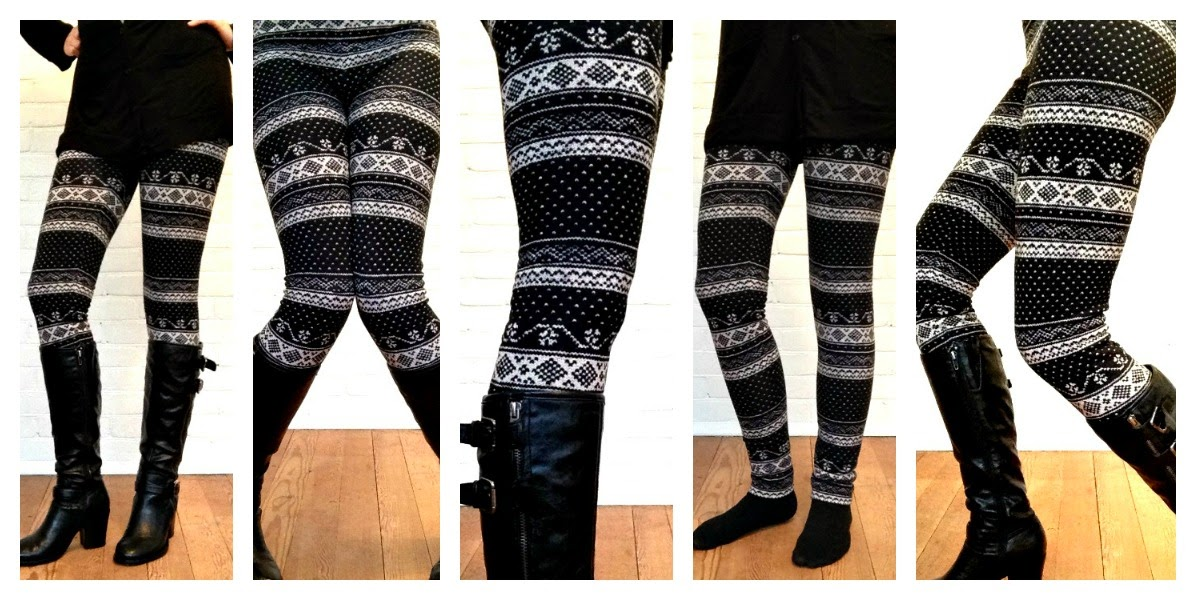 DIY Leggings, Nordic Leggings, Fleece Leggings, McCalls 6173