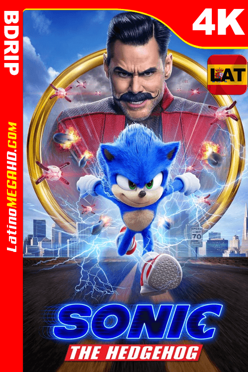 Sonic, La Película (2020) Latino HDR BDRIP 2160p ()