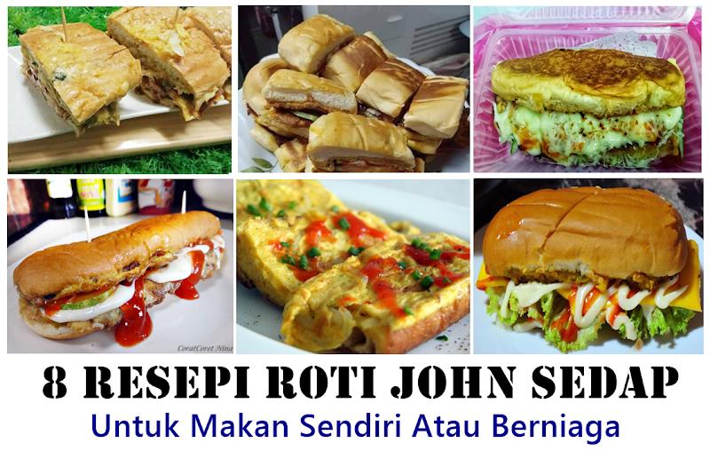 8 Resepi Roti John Sedap Untuk Makan Sendiri Atau Berniaga