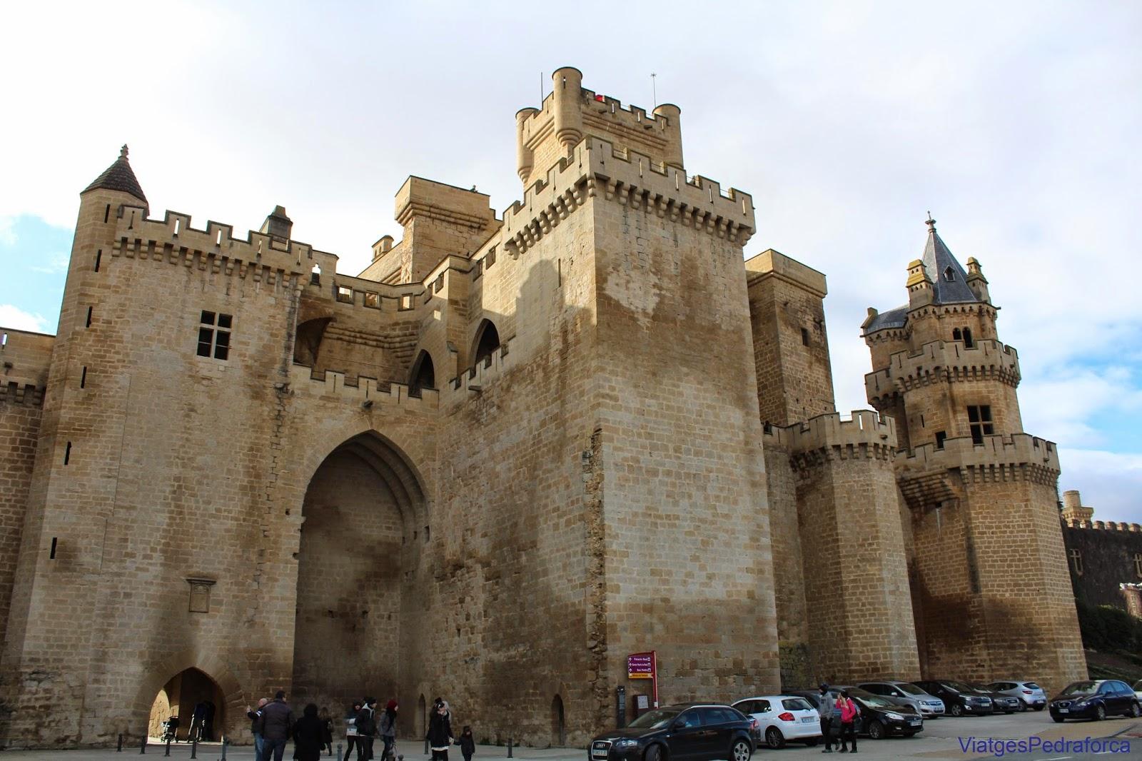 Castillo medieval y Palacio Real de Olite