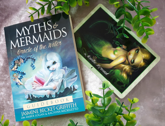 Myths and Mermaids Oracle of the Water - Absinthe Mermaid card