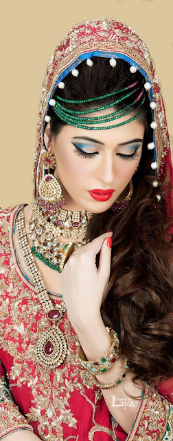 New Eastern bridal hair style in 2016