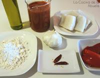 Bacalao Vizcaina Receta plato fresco ingredientes