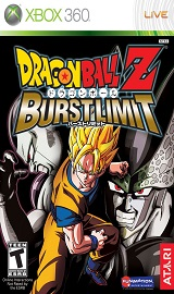 116626 dragon ball z burst limit xbox 360 front cover - DRAGON BALL: Z BURST LIMIT (NTSC-U) Xbox 360