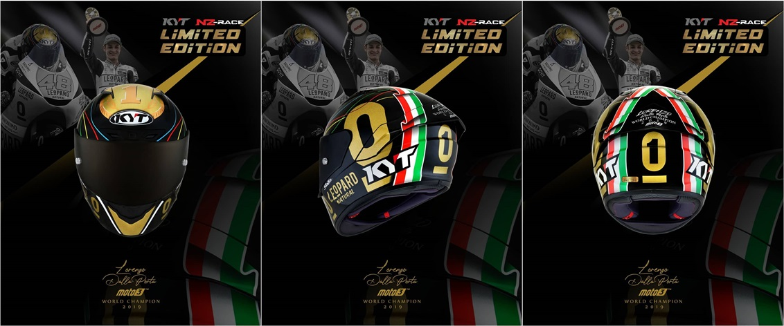 kyt nz race gold spesial dan limited edition