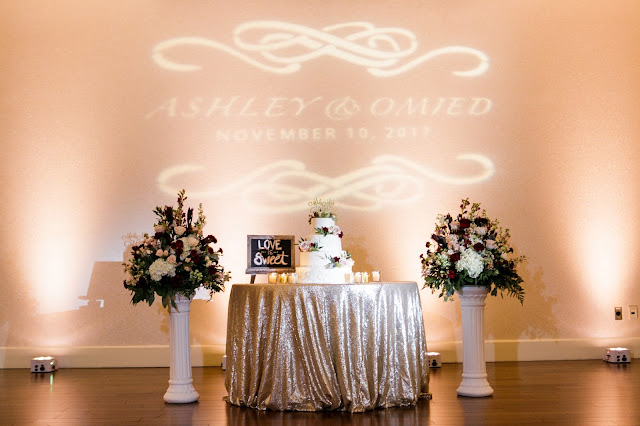 projector names and table setting
