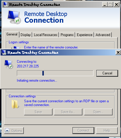 Cara remote pc