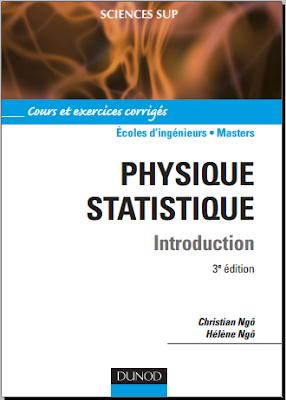 Télécharger Livre Gratuit Cours et exercices corrigés - Physique statistique, Introduction pdf