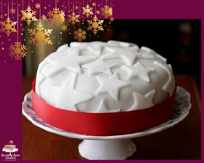 Meringue and Stars Cake