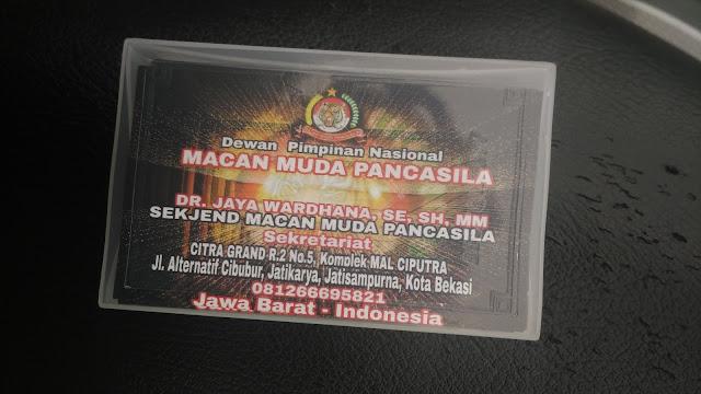 Kartu Nama Dewan Pimpinan Nasional
