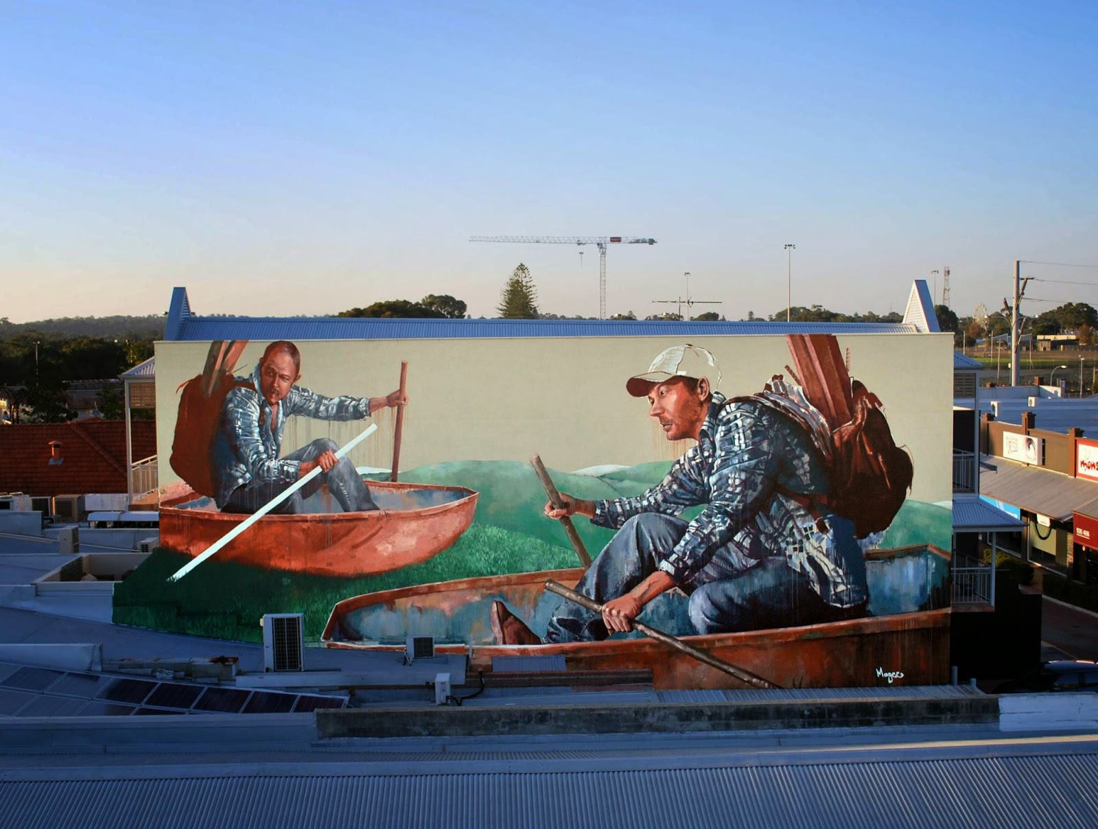 We continue our ongoing coverage of Public '15 in Australia with a new offering from Fintan Magee to the streets of Perth.