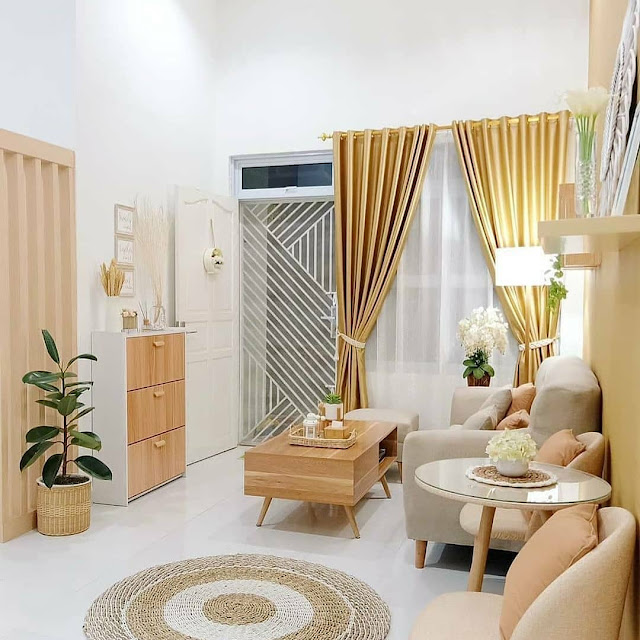 Ide Dekorasi Interior Ruang Tamu Minimalis Sederhana Terbaru