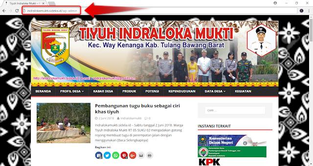 Cara Masuk Website Desa (SiDeKa)