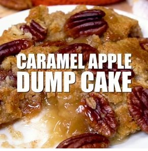 Caramel Apple Dump Cake