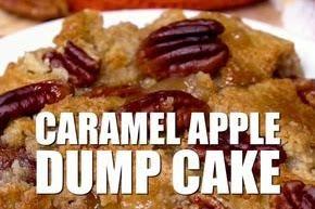 Caramel Apple Dump Cake | Rahasia Masak