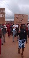 Manifestation à l'appel de la DMK : Lomé mise sous éteignoir, Danyi et Tabligbo donnent le ton en attendant la diaspora…