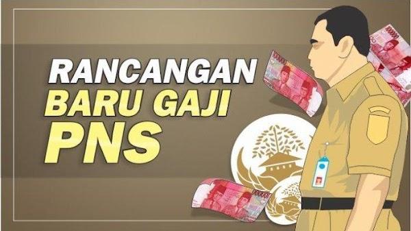 Daftar Gaji CPNS 2019 Sesuai Dengan Peraturan Pemerintah Republik Indonesia No.15 Tahun 2019