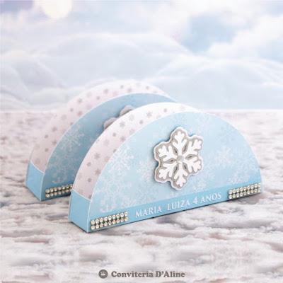frozen porta guardanapo personalizado