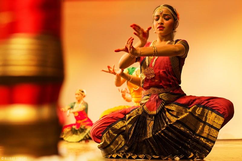Bharatnatyam recital Nritpriya Angeekam Dance Institute