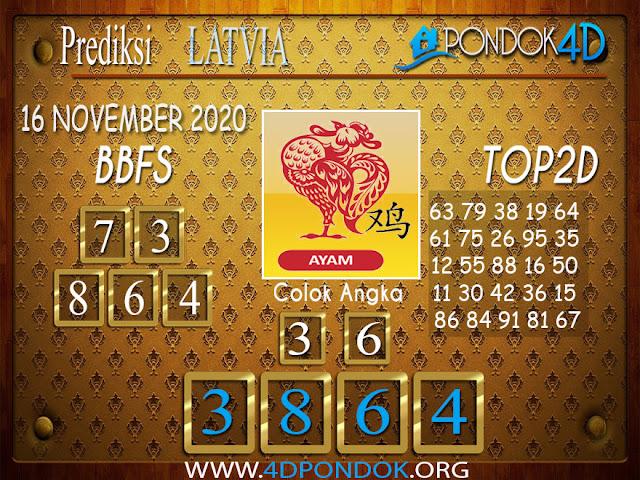 Prediksi Togel LATVIA PONDOK4D 16 NOVEMBER 2020