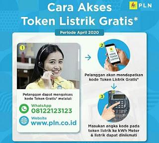 Cara Mendapatkan Token Listrik Gratis Dari PLN
