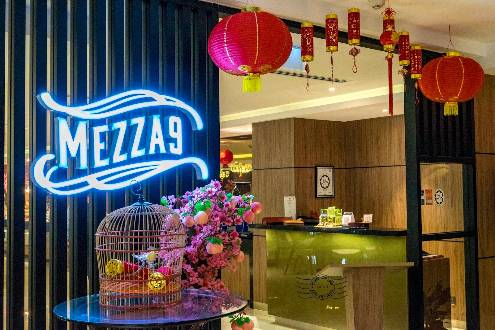 Chinese New Year Dinner Buffet 2018 Mezza 9 iconic hotel