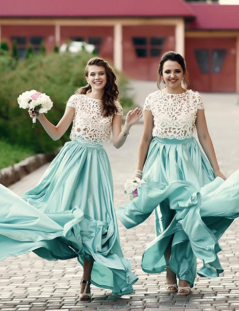 Here Are Your Options For Bridesmaids' Dresses
