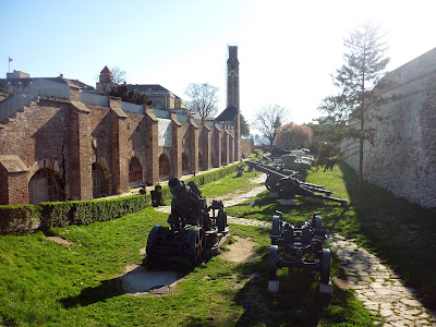 WW1 Cannons on Kalemegdan by Igor L.
