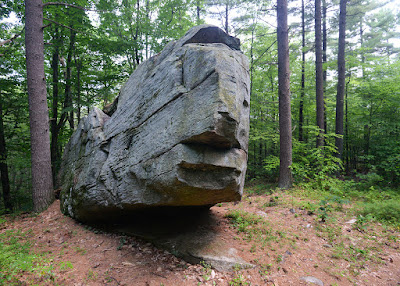 Whale's Head at Wendell State Forest (photo by Ben Kimball; copyright 2015)