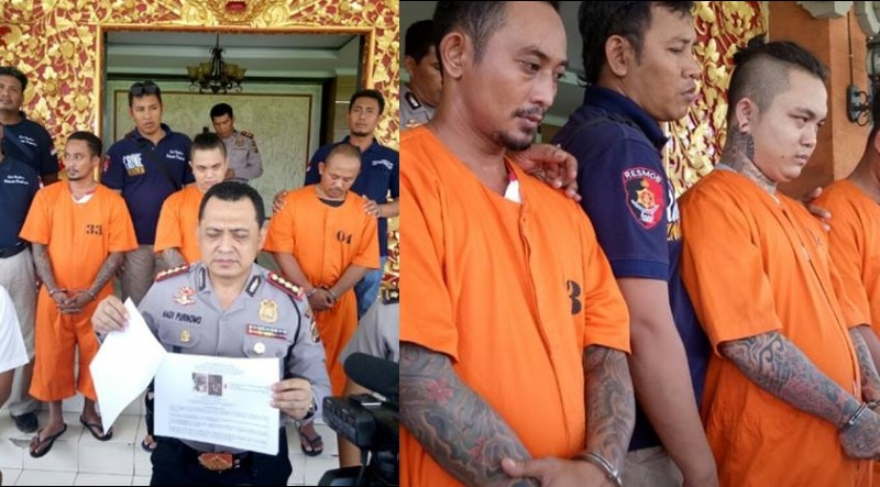 Penganiaya bule Ukraina di Bali diamankan