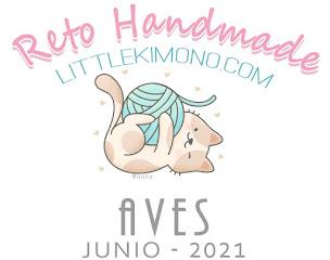 Little Kimono: Reto Handmade Junio 2021, Aves