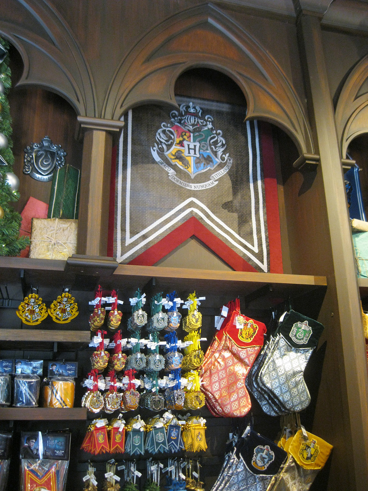 Harry Potter Hogwarts Christmas Ornaments