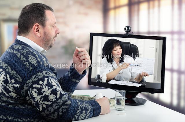 Check how an online medical visit works